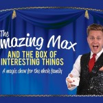 The Amazing Max magic show logo