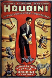 Houdini is one of the most popular magicians of the century and lived in New York City.