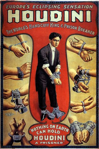 Harry Houdini is one of the most popular magicians of the century and lived in New York City.