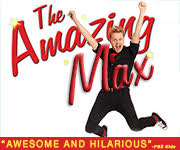 The Amazing Max is a high energy family magic show playing in New York City, Off Broadway.